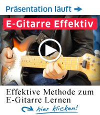 Die erste Grundausbildung für E-Gitarristen!