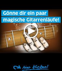 Diese Magischen Gitarrenläufe lernen!